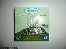Catena KMC X 11L silver light bici / mtb / corsa / strada - 11 speed bike chain