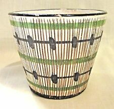 Vintage Retro Italian Flower Pot Made in Italy Ceramic Planter