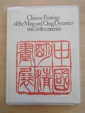 Chinese Paintings of the Ming & Qing Dynasties~14th - 20th Centuries~208pp HBWC
