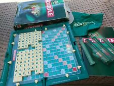 Mattel Travel Scrabble Game with clip in tiles - complete vintage board game vgc