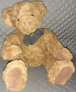 """Russ Berrie #2112 CHADFIELD, VINTAGE COLLECTION 13"""" Teddy Bear Plush Doll"""