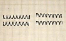 4 x Druckfeder, Länge 29mm, Außen Ø4,65mm, Drahtstärke 0,25mm