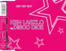 Ken Laszlo vs. Disco Dice Maxi CD Hey Hey Guy - Germany (M/M)