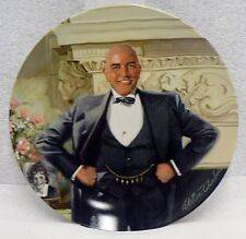 """Knowles Fine China Plate Little Orphan Annie """" Daddy Warbucks """""""