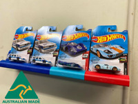 Hotwheels Hot Wheels Wall Display for carded cars Holder Mount 3D Printed