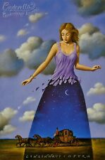 "RAFAL OLBINSKI ""Cinderella"" Poster Offset Lithograph 24″ by 37″ Polish Artist"