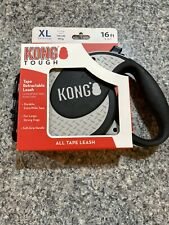KONG TOUGH Tape Retractable Leash 16 Ft Dogs up to 150 Lbs