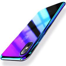 Farbwechsel Handy Hülle Für iPhone X / XS Case Bumper Schutz Back Cover Etui WOW