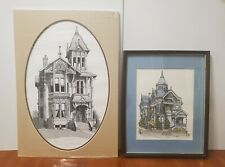 Victorian House~Ink Drawing Prints~Haas-Lilienthal~Debbie Patrick~James E. Coyle
