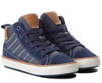 GEOX RESPIRA ALONISSO J842CB scarpe bambino ragazzo uomo sneakers polacchi pelle