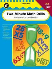 Two-Minute Math Drills, Grades 3 - 5: Multiplication & Division, , Good Book