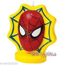 ULTIMATE SPIDERMAN CAKE CANDLE ~ Super Hero Birthday Party Supplies Decorations
