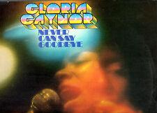 Soul Gloria Gaynor. nunca. puede decir adiós. Orig Ex + + UK LP.