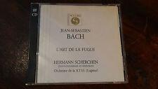 SCHERCHEN L'ART DE LA FUGUE BACH ART OF FUGUE RTSI LUGANO ACCORD 2 CD SET  1965