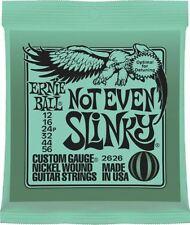 Ernie Ball N'Est Pas Even Slinky Nickel Enroulé Vert Pack