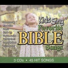 Kids Sing Favorite Bible Songs by Children's Spiritual Choir (3 CD Set)