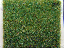 2 pcs of Scale Model Train Layout Grass Mat 0.5x0.5m Ygreen HO N