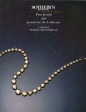SOTHEBY'S London JEWELS Boucheron Cartier Rood Sanz 95