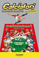 ALBUM PANINI CALCIATORI LA RACCOLTA COMPLETA 1983-84 1984 GAZZETTA DELLO SPORT