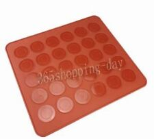 Free Shipping wholesale size 26*29cm 30 Holes Macaron Silicone Mat