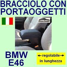 BMW E 46 - E46 - bracciolo portaoggetti REGOLABILE- facciamo tappeti auto con