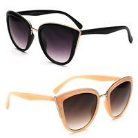New Women's Classic Cat Eye Designer Fashion Shades Sunglasses