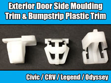 Clip 10x PER HONDA CRV CIVIC PORTA ESTERNA LATERALE stampaggio bumpstrip plastica Trim