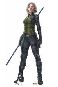 Black Widow Avengers Infinito Guerra Lifesize Cartone Ritaglio/Stand-Up Biondo