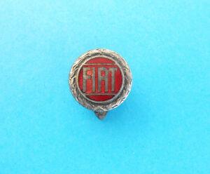 FIAT -  nice rare old enamel buttonhole pin badge abzeichen anstecknadel spilla