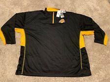 NBA Los Angeles Lakers Majestic Big&Tall Logo Pullover Jacket 5XL RT$55 NWT B25