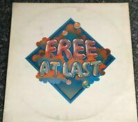 LP VINYL ALBUM FREE AT LAST ISLAND PINK RIM 1972 UK 1ST PRESS ILPS 9192 VG/EX