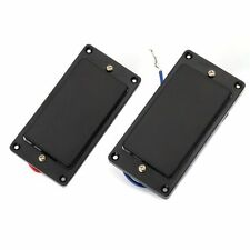 Sealed Electric Humbucker Double Coil Pickup Set For Gibson Les Paul Parts Black