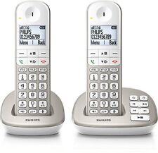Téléphone sans fil DECT répondeur - Touches larges - Philips XL4952S/FR - NEU
