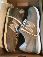 Men's New Balance Gray Suede Tennis Shoes Size 10 1/2 New in Box ~ M574GS