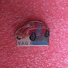 Pins Voiture Coccinelle Cox Volkswagen V.A.G. BRESSUIRE Beetle