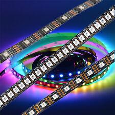 1m/5m RGB LED Strip Stripe  WS2812B APA102 WS2801 5050 RGB SMD 30 60 144 LEDs
