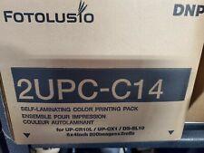 DNP 2UPC-C14 print media per Lab 2 UPCC Snap 14