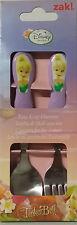 Disney Fairies Kids Easy Grip Flatware Spoon & Fork Cutlery Set . Zak Designs