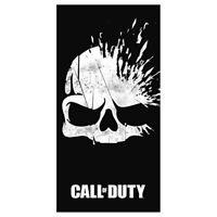 Call Of Duty Broken Skull' Towel, Cotton, Black, 70 x 0.5 x 140cm - Towel Skull