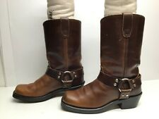 VTG MENS DURANGO HARNESS MOTORCYCLE BROWN BOOT SIZE 8 M
