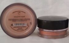 2 BAREMINERALS ALL OVER FACE COVER POWDER  SUNGLOW SAND UNSEALED 1.5 g