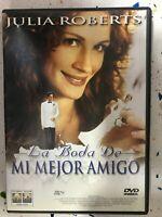 La Matrimonio De il Mio Amico DVD Julia Roberts Spagnolo Inglese Italiano Am