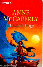 """Anne McCaffrey - """" Die Drachenreiter von Pern 15 - DRACHENKLÄNGE """" (2002) - tb"""