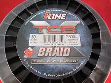 P-Line XTCB  Braid 30lb - 2500 Yds - Green
