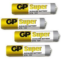 4 x GP 27A A27 MN27 L828 12V Car Alarm Key Fob Alkaline Battery