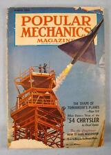 Popular Mechanics Vintage Magazine March 1954 Volume 101 Number 3 HH Windsor (O)