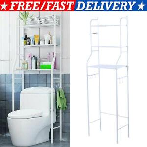 Toilettenregal Waschmaschinenregal Badezimmer Bad Regal WC Standregal Lagerregal