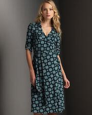 Diane Von Furstenberg Duenne circle printed wrap dress size 6 USA