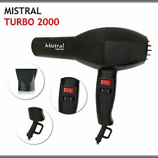 PHON ASCIUGACAPELLI MISTRAL TURBO 2000 Professionale 1500W MADE IN ITALY