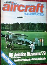 Aircraft Illustrated Magazine 1979 April A300,A310,UK Aviation Museums,Herald